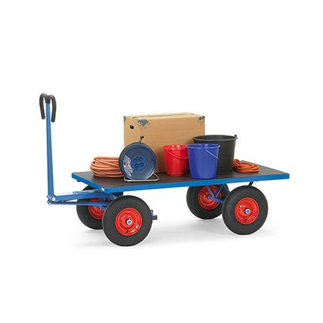 Handpritschenwagen fetra® ohne Wände. Tragkraft bis 1250 kg