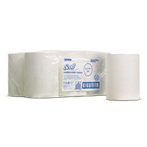 Handtuchrolle SCOTT® für Handtuchspender SLIMROLL. Rollenblattspender