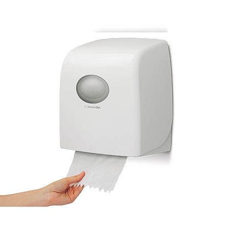 Handtuchspender Kimberly-Clark SLIMROLL klein. Rollenblattspender
