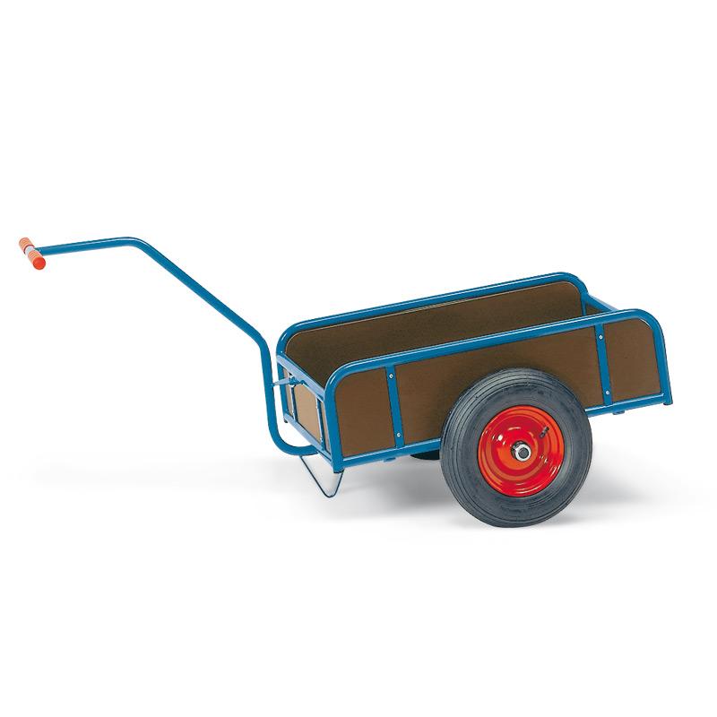 Handwagen fetra® mit 4 Bordwänden. Tragkraft 200 oder 400 kg