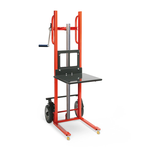 handwinden hubkarre mit plattform tragkraft bis 150 kg. Black Bedroom Furniture Sets. Home Design Ideas