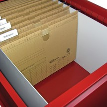 Hangmappenframe voor A4- hangmappen voor ruitertjes voor lerarentafel PAVOY