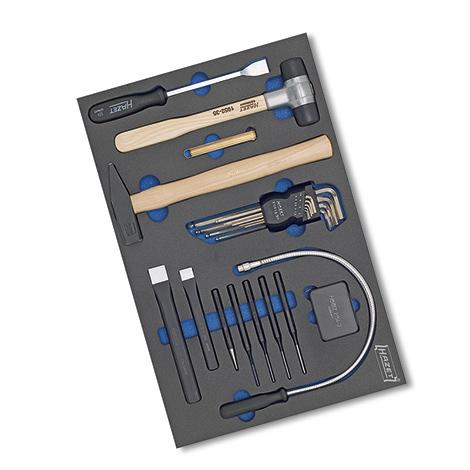 HAZET®  Mechanikerwerkzeug-Grund-Sortiment 22-teilig