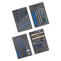 HAZET®  Mechnikerwerkzeug-Grund-Sortiment, 117-teilig