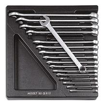 HAZET® Ring-Maulschlüssel-Satz, 17-teilig