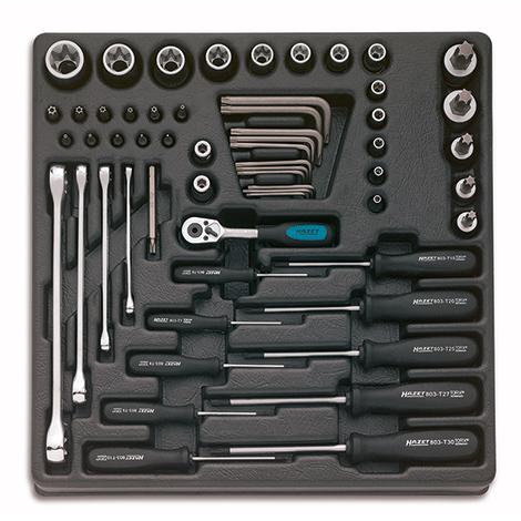 HAZET® Werkzeug-Satz mit 58 Teilen