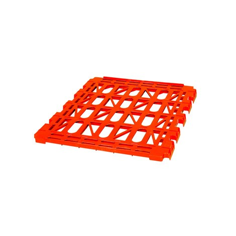 HDPE shelf for Classic roll container, 2-sided, WxD 710 x 810 mm