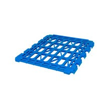 HDPE shelf for Classic roll container, 3-sided, WxD 710 x 760 mm