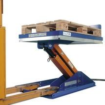 Hefkantelaar met gesloten platform, heffing tot 820 mm