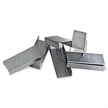 Heftklammern für Kartonverschlusshefter. Schenkellänge 16 - 22 mm