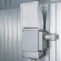 Heizung für Brandschutz-Container F90, 400V