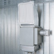 Heizung für Brandschutzcontainer F90