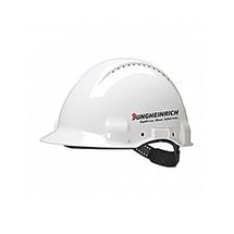 Hełm z czujnikiem UV do ochrony głowy przed urazami mechanicznymi