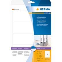HERMA Ordnerrücken-Etiketten selbstklebend