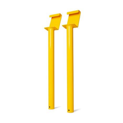 Herramienta de montaje de protección Pimpact de plástico para estante inferior