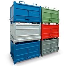 HESON® sammenklappelig bund container med kabeludløsning