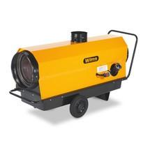 Heteluchtblazer Wilms® met uitlaatgeleider. Verwarmingsvermogen 22 - 110 kw