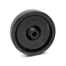 Hittebestendig wiel. Wielbody kunststof, capaciteit 140 - 350 kg