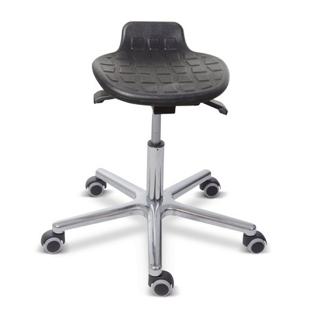 Hocker Komfort, PU-Sitz