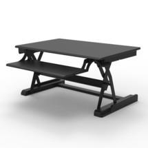 Höhenverstellbarer Schreibtischaufsatz Premium