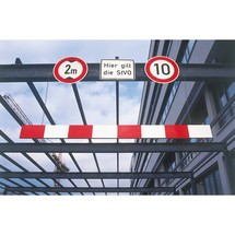 Höjdbegränsare, aluminium