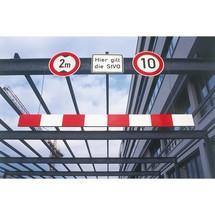 Højdebegrænser, aluminium
