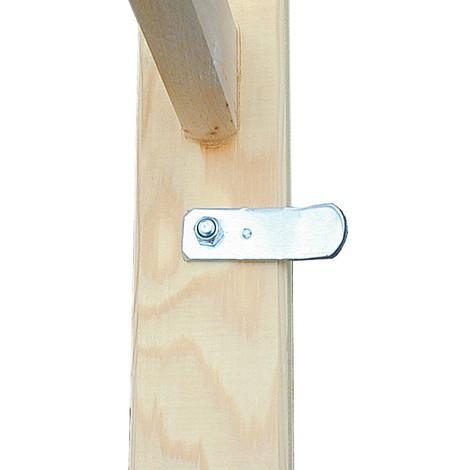 Holz-Sprossenleiter KRAUSE®, 2-seitig begehbar