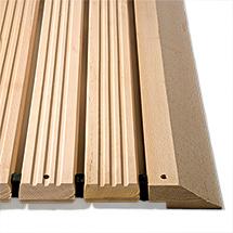 Holzrost Industrie, Typ F mit Auffahrkeilen und 1 Abschrägung