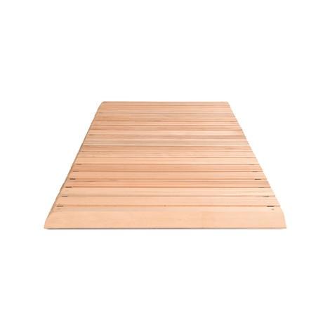 Holzrost Yoga Industrie, inkl. Auffahrkeilen und Abschrägung