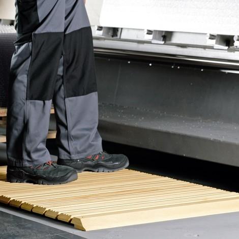 Holzrost Yoga Industrie, ohne Auffahrkeile und Abschrägung