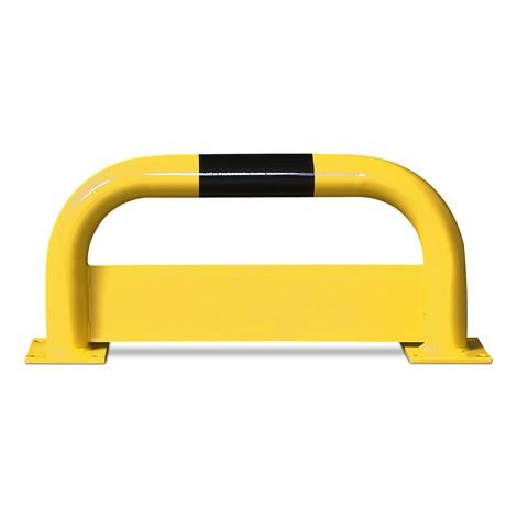Hoop guard with underride barrier