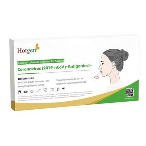 Hotgen Novel Coronavirus (2019-nCoV) Antigen-Test, nasal, 20 Stk/VE