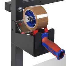 Houder voor tapeafroller, 3-voudig voor perfoplaat of dwarsdrager