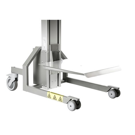 HOVMAND lifter with stainless steel platform