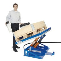 Hub-Neigegerät EdmoLift® mit geschlossener Plattform