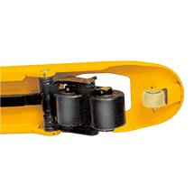 Hubwagen Ameise® mit Schnellhub. Tragkraft 2500 kg, melonengelb