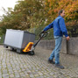 Hubwagen Ameise ® mit Trommelbremse. Tragkraft bis 2500 kg.