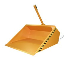 Hydraulická lopata pro vysokozdvižný vozík, lakovaná, objem 0,95 m³