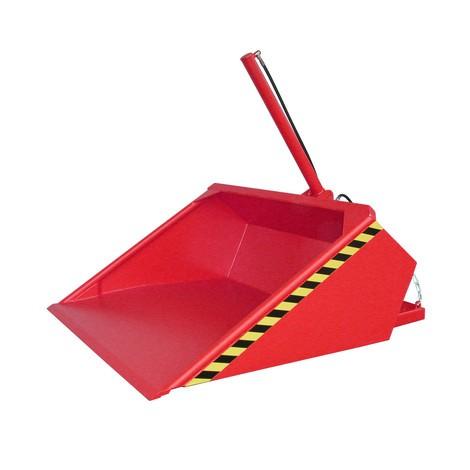 Hydraulická lopatka pre vysokozdvižný vozík, maľovaná, objem 0,7 m³