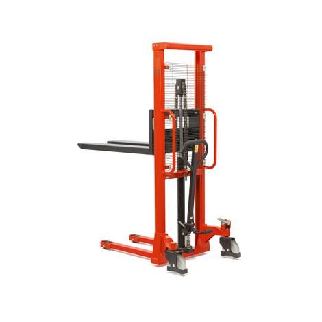 Hydraulický vysokozdvižný vozík BASIC sjednoduchým sloupem