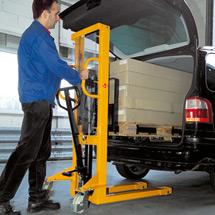 Hydraulik-Stapler Ameise® - Einfach-Mast, Hub bis 1600 mm, Tragkraft bis 1500 kg