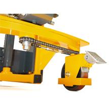 Hydraulik-Stapler Ameise® mit automatischem Schnellhub - Einfach-Mast, Hub bis 1600 mm, Tragkraft 1000 kg