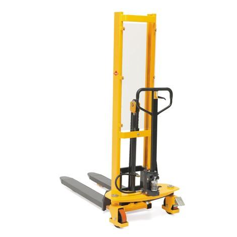 Hydraulik-Stapler Ameise® Quick Lift, RAL 1028 melonengelb, B-Ware