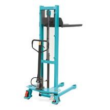 Hydraulik-Stapler Ameise® Quick Lift, RAL 5018 türkisblau, B-Ware