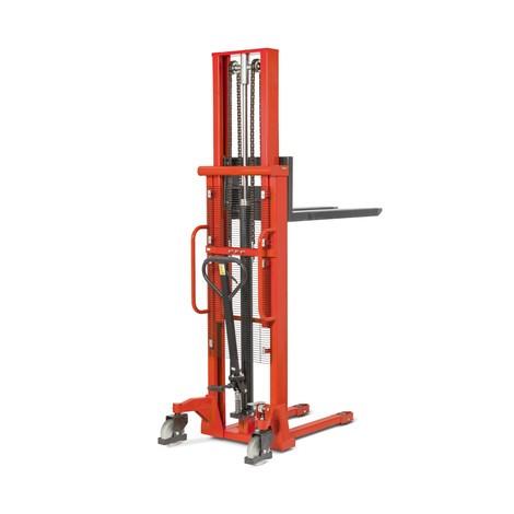 Hydraulik-Stapler BASIC PSM 1.0 mit Zweifach-Teleskop-Mast