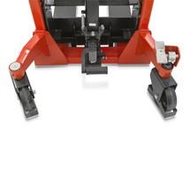 Hydraulische stapelaar BASIC - enkelvoudige mast, heffen tot 1600 mm, capaciteit 1000 kg