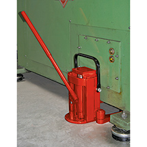 Hydraulischer Maschinenheber. Tragkraft 8000 kg