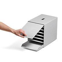 IDEALBOX PLUS - die Schubladenbox mit versenkbarer Frontplatte