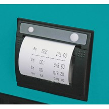 Impressora térmica para porta-paletes com balança Ameise® PRO/PRO+/Touch