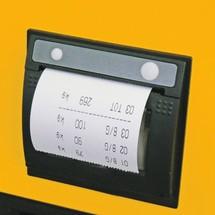 Impressora térmica para porta-paletes com balança Junheinrich AMW 22p